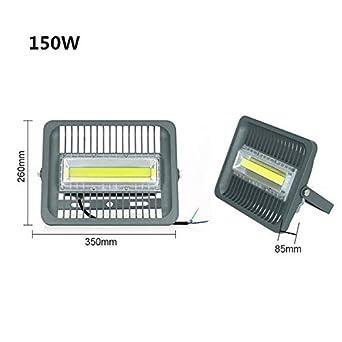 Foco LED de 150 W, luz blanca fría: reflector LED IP66 150 W 100 W 50