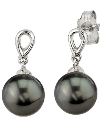 14K-Gold-Tahitian-South-Sea-Cultured-Pearl-Sherry-Earrings