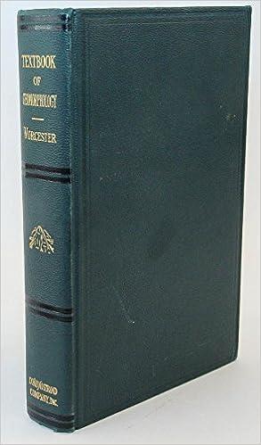 A Textbook of Geomorphology