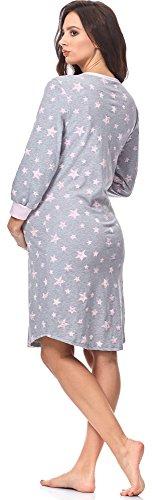 0111 da Italian IF Comet Melange Rosa Notte Fashion Camicie per Allattamento 1xqwF8xg