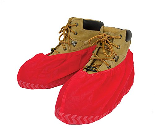 Red Shoe Cover (ShuBee® Red Original Shoe Covers - 50 pair)