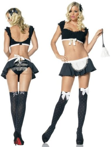 Ultra Sexy Frenchie Maid Costume - S/M (Frenchie Costumes)
