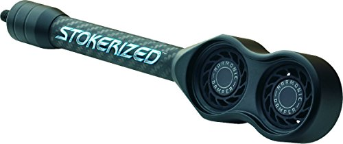 Stokerized 9 Carbon Body Harmonic Dampening Stabilizer - Black