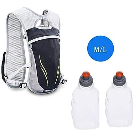 XUSHSHBA 5.5L Marathon Trail Running Bags Hiking Climbing Racing Backpack Cycling Backpack Vest with 250Ml