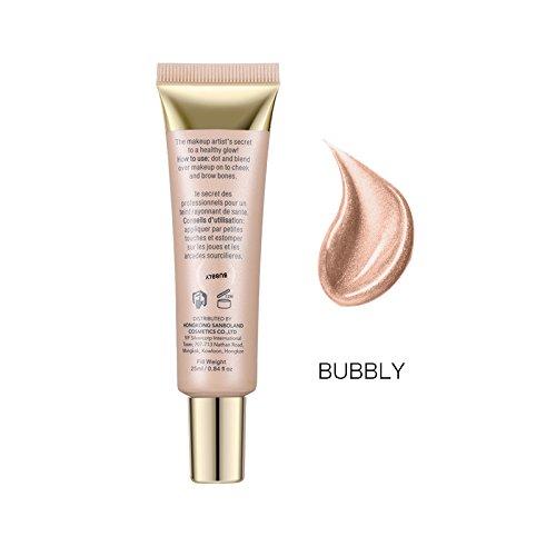 O.TWO.O Professional Makeup Base Liquid Foundation Primer Cosmetics Highlighting Cream Sunscreen Moisturizing Oil Control Face Primer (BUBBLY)