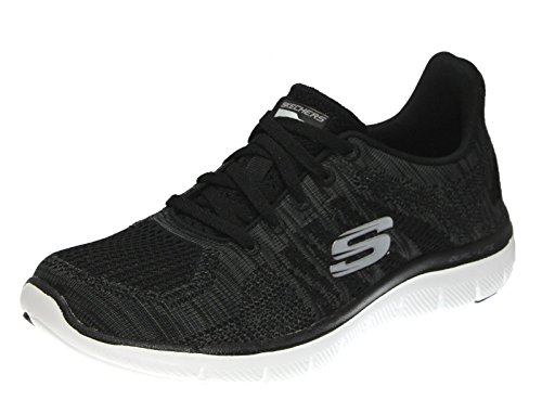 Flex Zapatillas Appeal Negro Carb Skechers Energy Mujer 2 High 0 ZawqCw