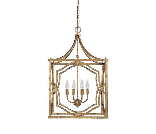 Gold 4 Light Pendant - 8
