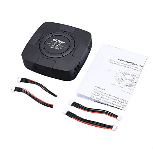 Wikiwand 4 in 1 Lipo Charger 70W for YUNEEC H480 Typhoon H Battery Remote Controller by Wikiwand (Image #4)