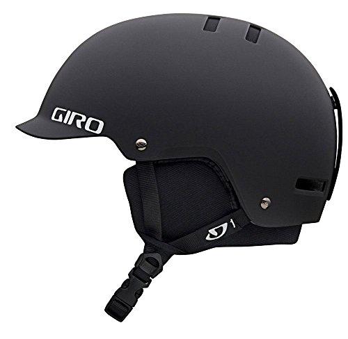 Giro Surface-S Snow Helmet (Matte Black, Medium) (Snowboarding Medium)