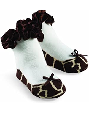 Princess Natalie Giraffe Sock