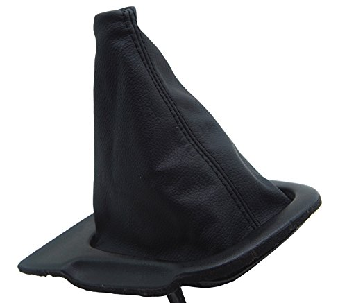 S14 240sx (Autoguru Nissan Silva 240SX S14 94-98 Manual Shift Boot Synthetic Leather Black)