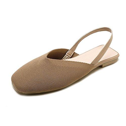 LYSLOLI Chaussures Sandales Femme d' Plates pp1ZxqR
