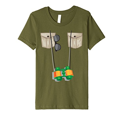 Toddler Zoo Keeper Costumes (Kids Zoo Keeper Halloween Costume - Jungle Safari Explorer Gift 4 Olive)