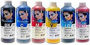 Inktec Dye Sublimation Ink for Epson/Mimaki/Roland 6 Colors (C M Y K LC LM)