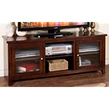 "Sunny Designs 62"" TV Stand in Cappuccino"