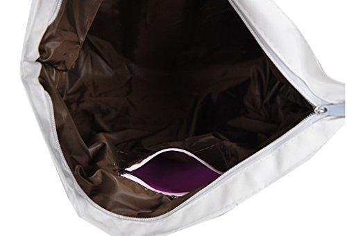fe9e671ba7c85 Damen Canvas zebra Shopper Tasche Leinwand Handtasche Mädchen Umhängetasche  Schultertasche Beuteltasche für Outdoor Camping Ausflug Urlaub ...