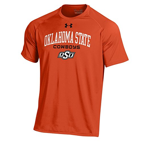 NCAA Under Armour Men's Tech Tee, Oklahoma State, Large