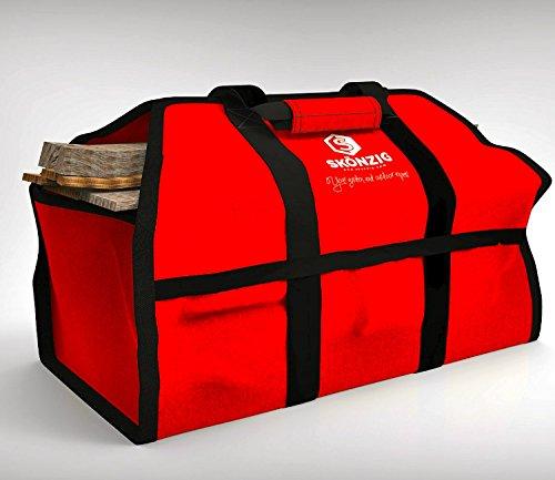 Skonzig Premium Firewood Carrier and Holder, Genuine, Super