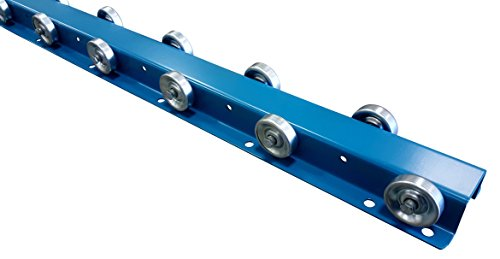 (Conveyor Rails | Flow Rail 5′ Long Skate Wheel Conveyor | T3S Flow Rack System)