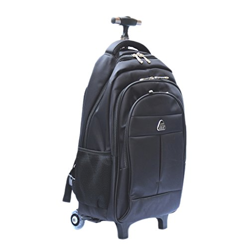 Little World IT Wheeled Backpack Lightweight Portable Carry-on Luggage with Removable Roller Frame for Traveling Business 16