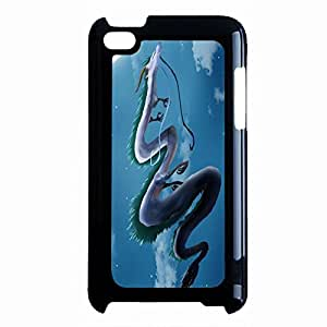 Unique Dragon Spirited Away Phone Case Cover for Ipod Touch 4th Generation Miyazaki Cartoon