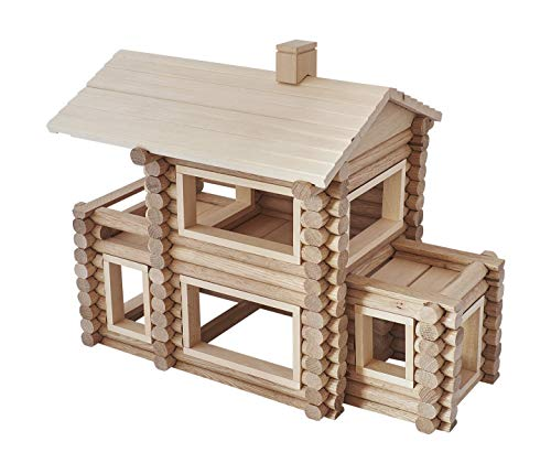 - Wooden toys for 3 year old and older - 221 natural and safe building blocks for kids. Wooden blocks for toddlers are hand made. Texas log cabin kits can be mixed with other puzzles, games.