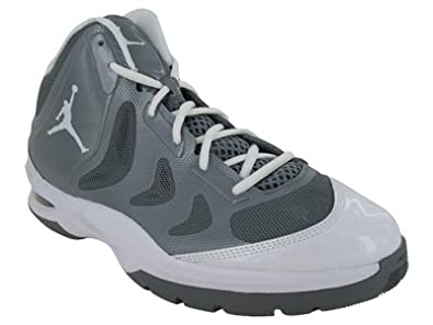 wholesale dealer e669c 7e81c Image Unavailable. Image not available for. Colour  Nike Jordan Play in These  2 Basketball Shoes Cool Grey White 510581-002 ...