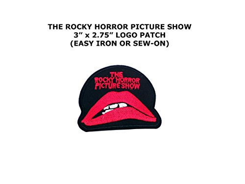 Rocky Horror Doctor Costume (Rocky Horror Picture Show Logo Iron or Sew-on Patch)
