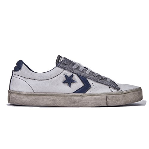 Pelle Uomo Converse Leather Sneakers Ox Vulc Pro suede Bianco Ltd gAqYw4