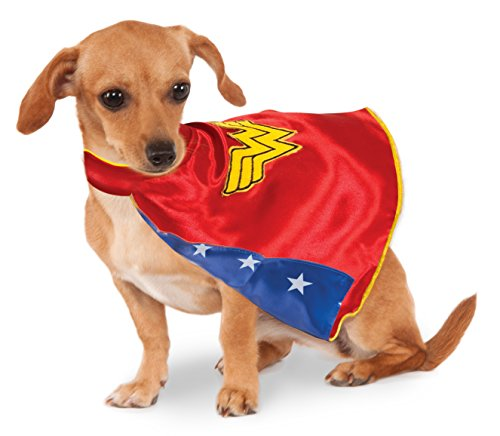 [DC Comics Wonder Woman Pet Cape, X-Large] (Dog Superman Costume Xl)
