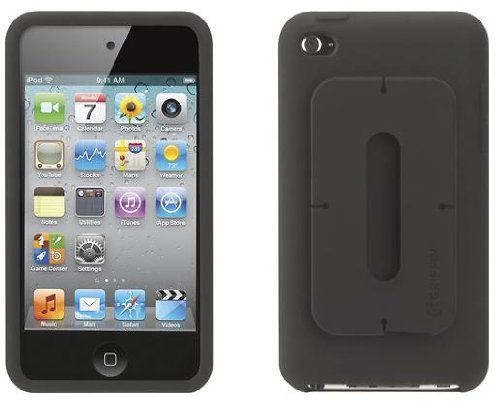 Griffin FlexGrip Wrap Case for iPod Touch 4G, Black