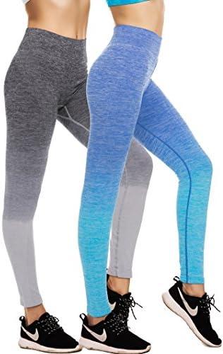 d3ed76374576c RUNNING GIRL Ombre Yoga Pants Ultrasoft Performance Active Stretch High  Waisted Running Leggings