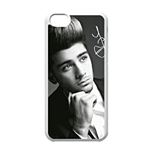 wugdiy New Fashion Hard Back Cover Case for iPhone 5C with New Printed Zayn Malik