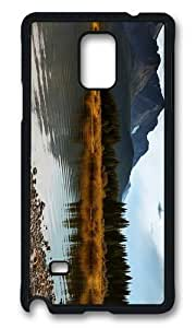 Adorable lake alberta canada Hard Case Protective Shell Cell Phone HTC One M7