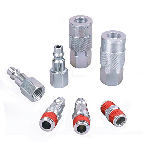 WYNNsky Air Tool Coupler and Plug Kit, 1/4