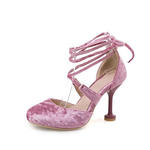 BalaMasa Sandales Compensées Femme Rose