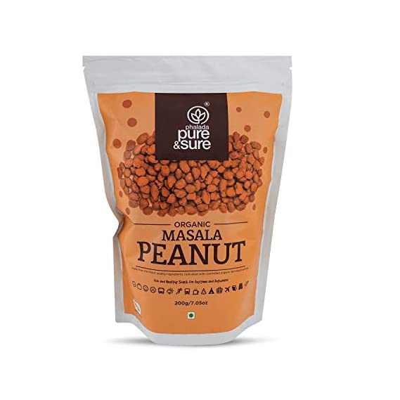 Pure & Sure Organic Masala Peanut 200gm