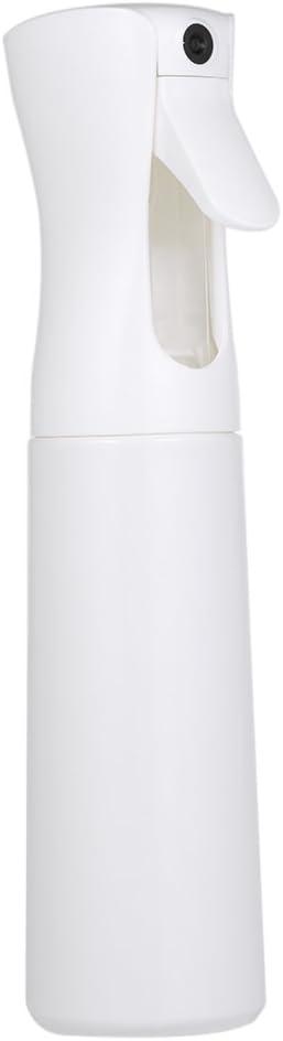 Image ofAnself Botella Frasco de Spray Pulverizador de Agua para Peluquería para Salón (300ml, blanco)
