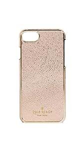 Kate Spade New York Metallic iPhone 7 Case, Soft Rose Gold, iPhone 7