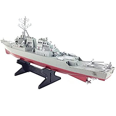 1990s Aircraft Carrier USS Arleigh Burke Class Destroyer DDG51 Model Kit(Finished)