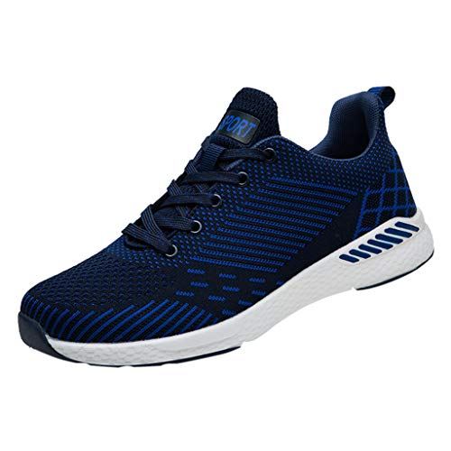 Couple Shoes,Men Casual Running Shoes Fashion Breathable Non Slip Sport Shoes Athletic Walking Running Sneakers lkoezi
