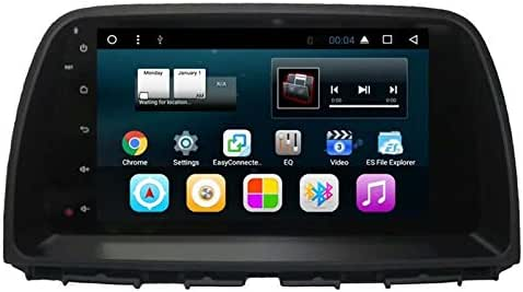 TOPNAVI 9Inch 32 GB Quad Core Android 7.1 Car Audio for Mazda CX-5 2014 2015 2016 Auto Stereo Radio Player GPS Navigaton with WiFi 2GB RAM 3G RDS Mirror Link FM Am Bluetooth Video