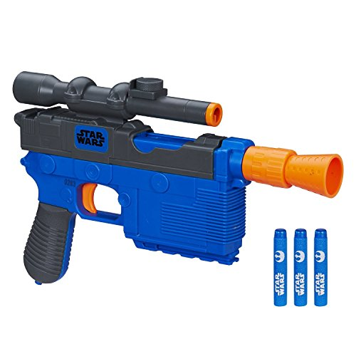 [Nerf Star Wars Episode VII 4 Darts Nerf Han Solo Blaster Toys] (Vintage Blow Up Halloween Costumes)