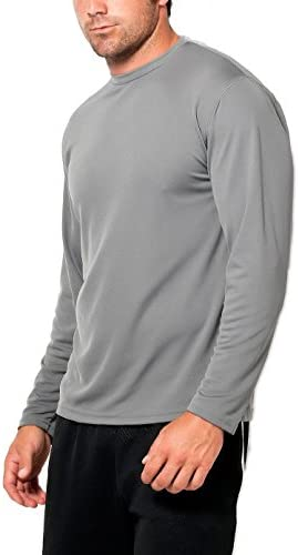 Unisex Extreme Wicking Long Sleeve Training Tee 21 colors Zorrel Z1051