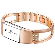 Replacement Bands for Fitbit Charge 2, Diamond Wristband Metal Bracelet Bands for Fitbit Charge 2 /Fitbit Charge 2 Bands,Watch Replacement Accessories Bands