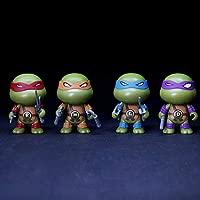 Wild TN 4 Unids Set Teenage Mutant Ninja Turtles Figuras De ...