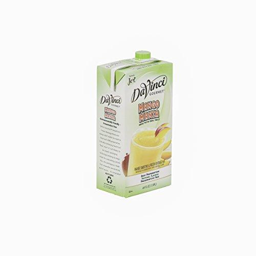 DaVinci Gourmet Mango Mania Smoothie Mix 64 oz, Pack of 6 by DaVinci Gourmet