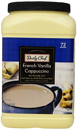 Daily Chef Vanilla Cappuccino Servings