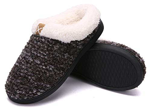 Pictures of Women's Comfort Memory Foam Slippers Plush 1