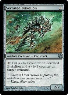 (Magic: the Gathering - Serrated Biskelion - Duel Decks: Elspeth vs Tezzeret)